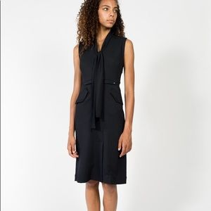 Rachel Comey Navy Gully MIDI Dress- never worn tie